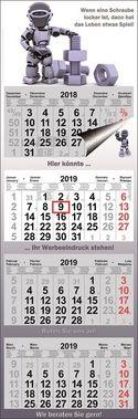 4-month calendar