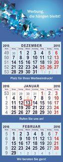 3-month Calendar