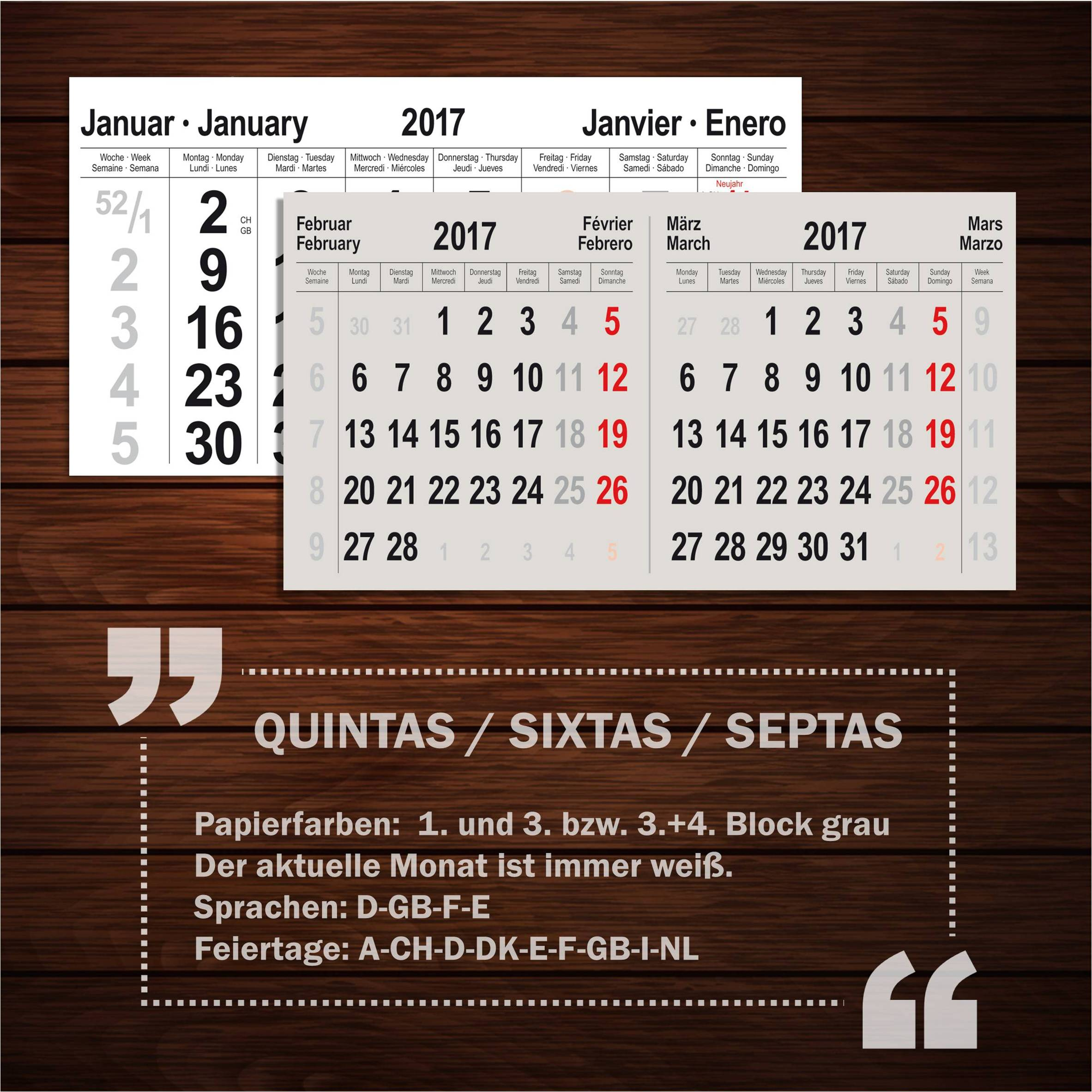 7-month calendar SEPTAS medium